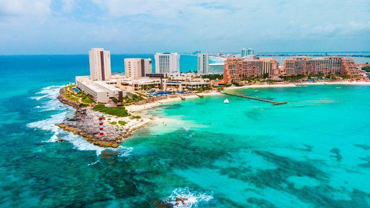 Cancun playas y hotel